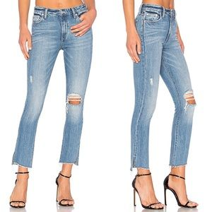 Lovers + Friends • Logan High Rise Cropped Jeans